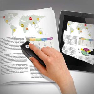 PenPower SWDSBSK1EN BeeScan Bluetooth Wireless Handheld Scanner