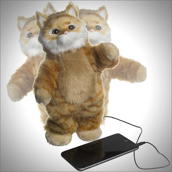 Cobra Digital Party Animal Dancing Cat Pet Speaker