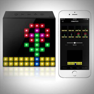 Divoom Aurabox Bluetooth 4.0 Smart LED Speaker with APP Control for Pixel Art Creation