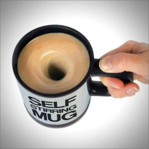 Self Stirring Mug Office Coffee Tea Cup Mix