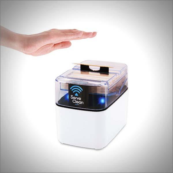 Serve Clean Smart Toothpick Dispenser
