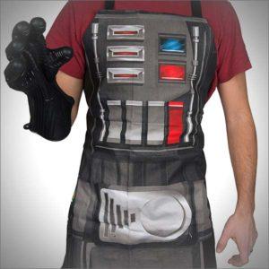 Star Wars Darth Vader Oven Glove and Kitchen Apron Set
