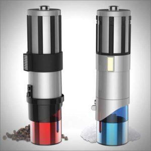 Star Wars Lightsaber Salt and Pepper Shakers