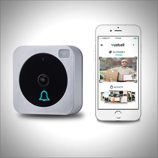 Wireless Wifi Video Doorbell, Doorbell Camera, Vuebell